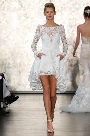 casual wedding dresses 12 short gowns from bridal fashion week
