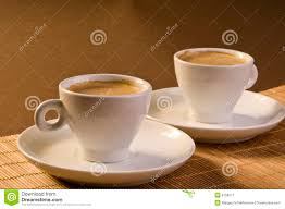 espresso coffee cups royalty free stock photography  image