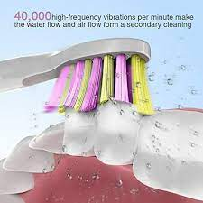 Dnsly Sonic Electric Toothbrush Replacement Heads - Snapklik
