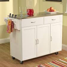 mini wooden kitchen cart quick view tms berkley kitchen island with stainless steel top