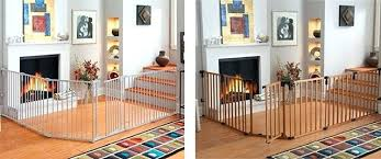 Child Proof Banister Metal And Wooden Baby Gates Baby Proof Stair ...