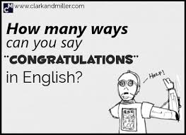 Words For Congratulations 15 Ways To Say Congratulations In English Clark And Miller
