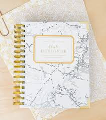 Day Designer Academic 2019 Academic Year 2019 2020 Mini Daily Planner White Marble