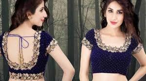 Latest Velvet Saree Designs 15 Gorgeous Velvet Blouse Design Patterns For Sarees