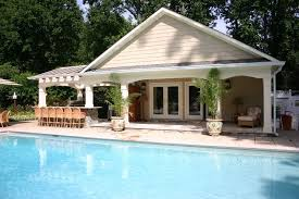 LIKE THIS POOL HOUSE PLAN  OUT HOUSE  Pinterest  Pool Houses Small Pool House Designs