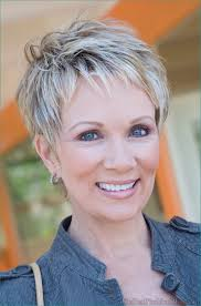 Short Hairstyles For Mature Women With Modele De Coiffure
