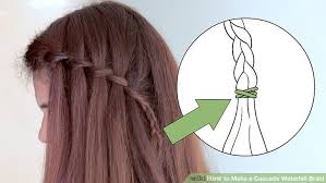 Hairstyle Waterfall how to make a cascade waterfall braid 10 steps with pictures 6357 by stevesalt.us
