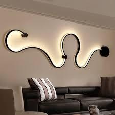 indoor home decoration modern curved