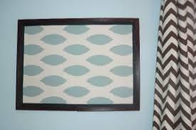 Velcro Memo Board Bulletin board makeover Best Fabric Store Blog 70