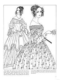 Small Picture 37 best Historical Fashion Coloring Pages images on Pinterest