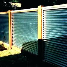 corrugated metal fence panels cost how to build a gated privacy delightful fenc