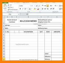 11 Cash Memo Bill Format In Word Example Of Memo Example Of
