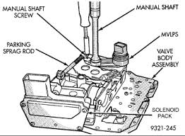 solved shift solenoid where is it fixya  at 2007 Cadillac Transmission Vavle Body Wiring Diagram