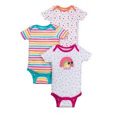 Walmart Baby Girl Clothes Custom Baby Girl Assorted Short Sleeve Bodysuits 32Pack Walmart