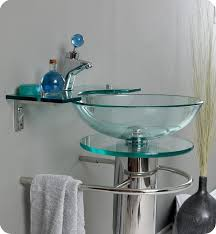 slumped glass vanity contemporary bathroom sinks seattle within on brilliant 14