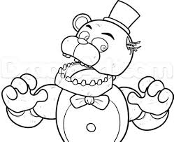 Phantom Freddy Free Colouring Pages