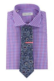 Pattern Shirt With Pattern Tie Custom Decorating Design