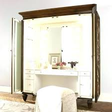 Gold Vanity Table Bedroom Vanity Table With Lights Vanity Set With ...