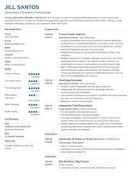 85 Resume Template For Teachers Teacher Resume Template 1 2 Page