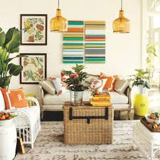 Rattan Living Room Furniture Fascinating Modern Happy Colors For Living Room With White Couch