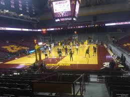 Williams Arena Minnesota Section 120 Rateyourseats Com