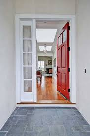 Contemporary Open Front Door For H Decorating