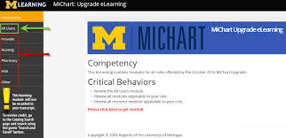 Mi Chart Michart Upgrade Elearning Tools Now Available Michigan