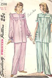 Pajama Patterns Simple 48 Adorable Vintage Pajama Patterns From The Past