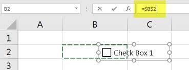 Validating Checkbox Linked Cells   A4 Accounting