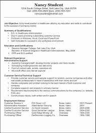 Resume Examples Pdf Gorgeous Resume American Resume Template Examples Sample Standard Example