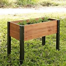 elevated garden beds. Coral Coast Bloomfield Wood Raised Garden Bed - 40L X 20D 29H In. Elevated Beds