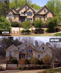 alpharetta ga painting contractors exterior before and after kimberly painting