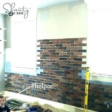 frightening faux brick wall home depot brick panel nice faux brick wall home fake brick wall living room