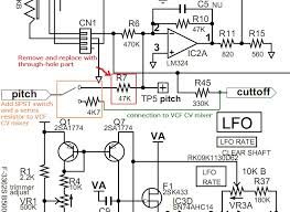 monotron delay a few mods more my diy blog lfo routing mod schematic