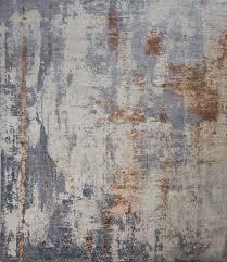 handmade contemporary modern abstract rug gray 8 00 x 10 00