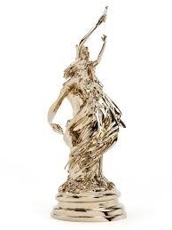 wim delvoye deux bacchantes counterclockwise 2010 polished bronze 72 28 30 cm