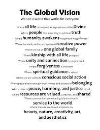 center for spiritual living santa rosa global vision statement global vision 9 2015 b