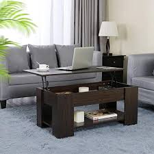 lift up top coffee table with under