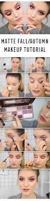 matte makeup tutorials matte fall autumn makeup tutorial awesome foundation and polish tutorial