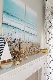 such cute diy projects like the rope sign and the large art relaxing