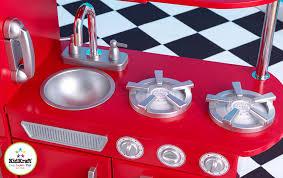 Melissa And Doug Retro Kitchen Amazoncom Red Retro Kitchen Toys Games