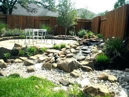 rock landscaping ideas backyard front yard with rocks garden desert idea cactuulch p