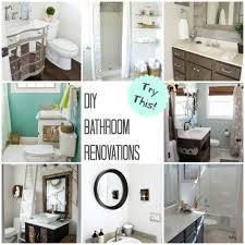 Diy Bathroom Try This Diy Bathroom Renovations Four Generations One Roof