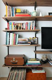 build wall mounted shelves collection in wall bookshelves ideas easy bookshelf plans wall mounted shelves diy