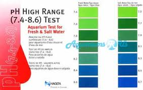 Ph Chart Unique Aquariums R Us Test Kits