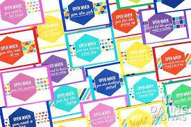 Open When Letters Printable Kit From The Dating Divas