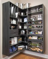 Kitchen Closet Shelving Kitchen Room Beautiful Pantry Design System Kitchen Closet