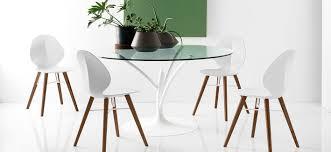 Moderner Esstisch Glas Metall Rund Acacia By Ziliani
