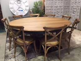 hamptons round pedestal base solid timber dining table package dining tables gumtree australia the hills district castle hill 1140369541