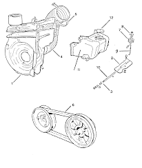 Cooling system parts · fiat 500 cooling system